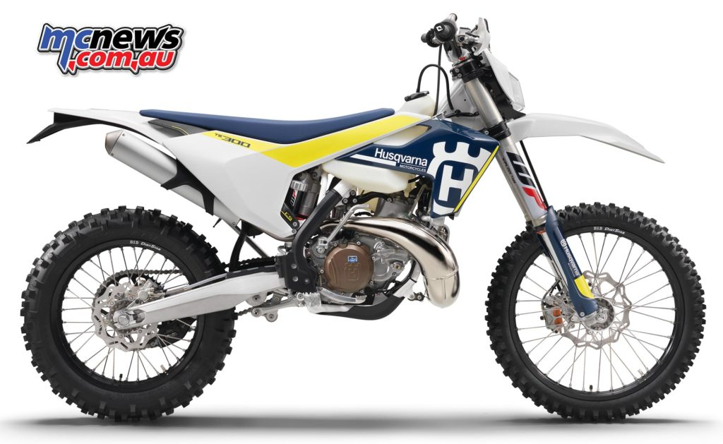 2017 Husqvarna TE300 - Current model two-stroke Husky Enduro
