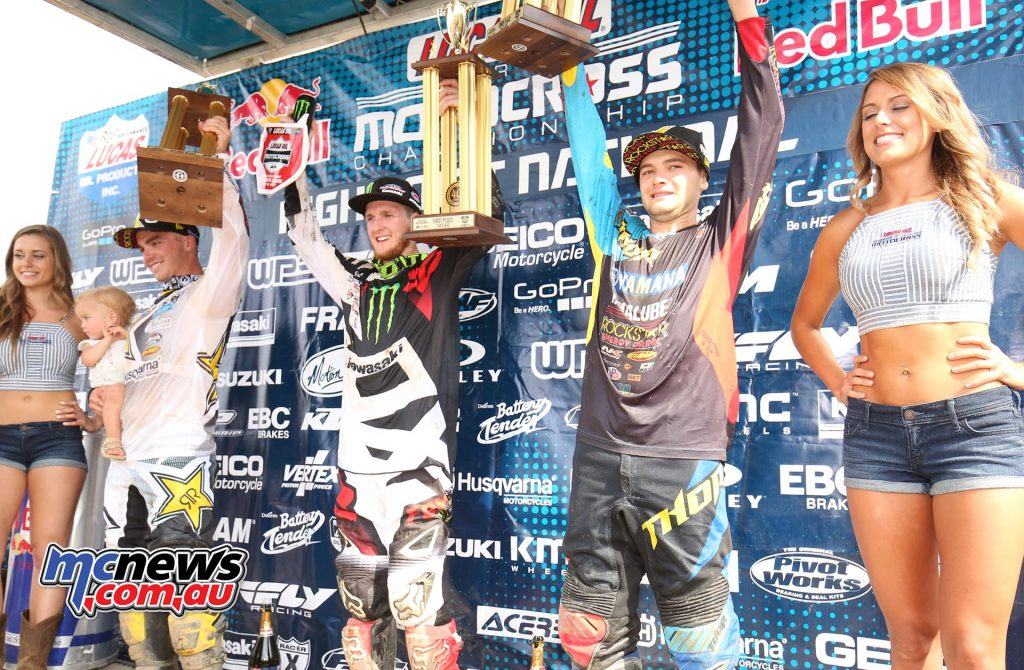 AMA Motocross 2016 - Red Bull High Point National - Podium 250