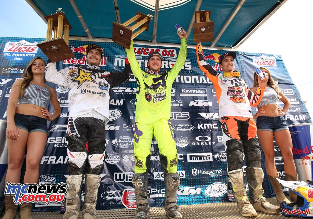 AMA Motocross 2016 - Red Bull High Point National - Podium 450