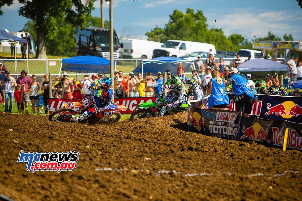AMA Pro Motocross 2016 - Round Five - Muddy Creek TN - Image by Hoppenworld - Shane McElrath