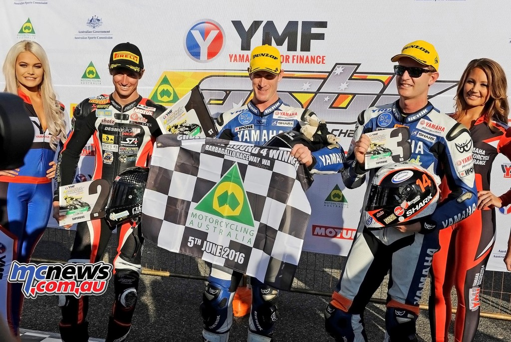 ASBK 2016 - Round Four - Barbagallo Raceway, Wanneroo - Superbike Round Points