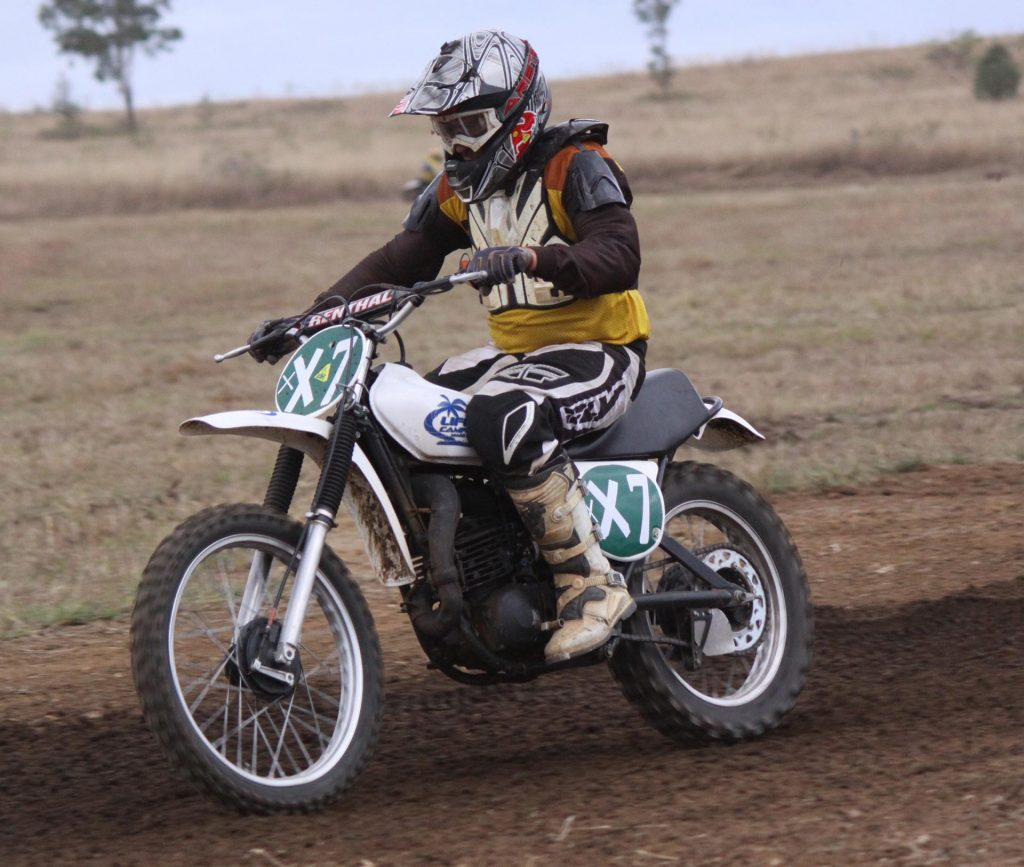 Classic Motocross Championships 2016 - Darren Smart, 2nd in Pre 1978 250cc