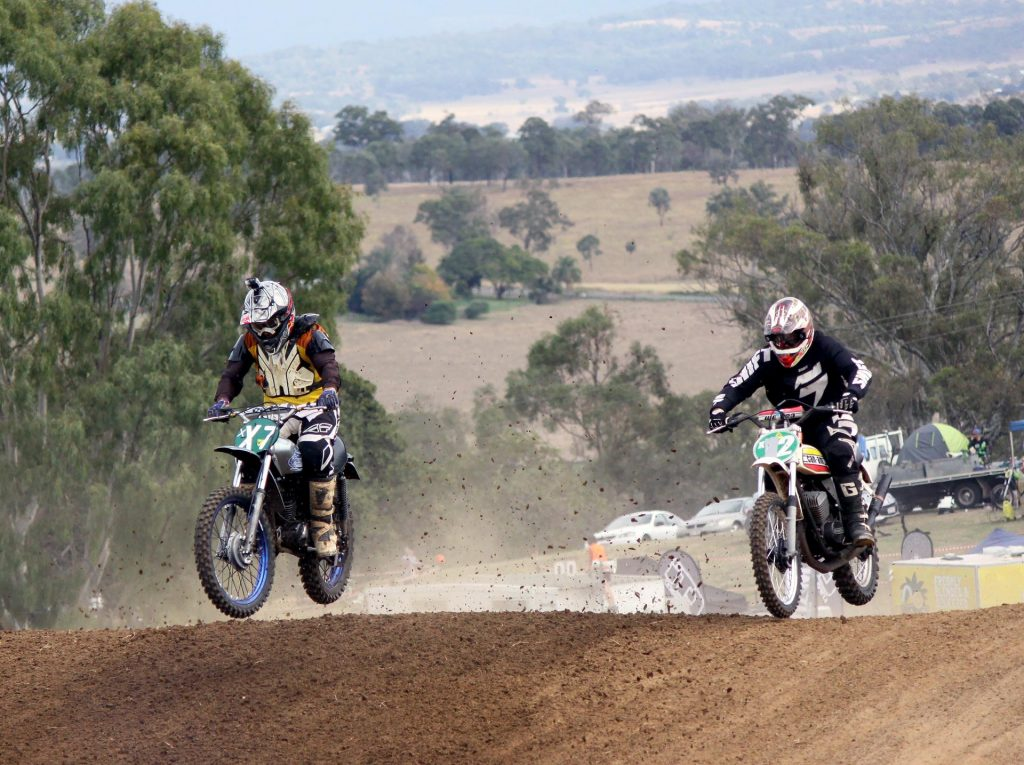 Classic Motocross Championships 2016 - Dean Rowe and Darren Smart