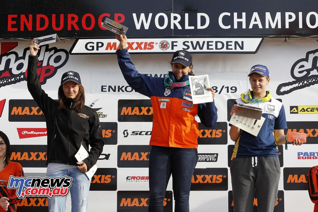 EnduroGP 2016 - Sweden - Laia Sanz the victor on day two