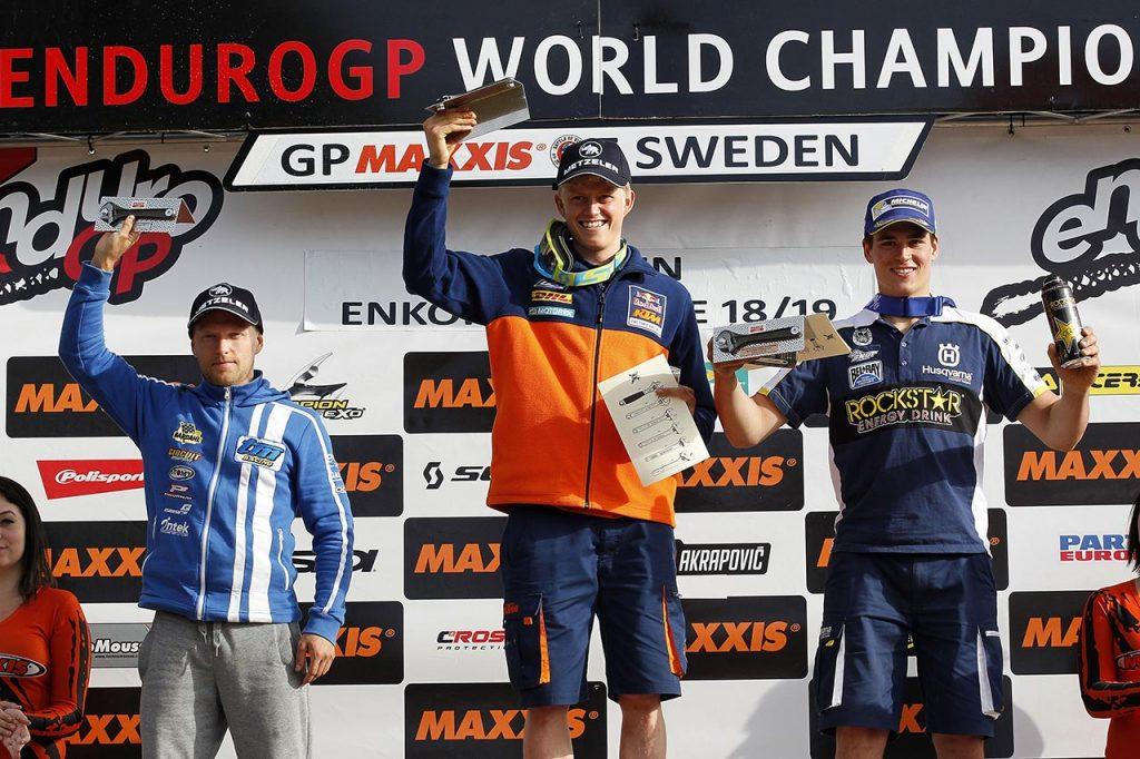 EnduroGP 2016 - Sweden - Nathan Watson E1 Winner Day Two