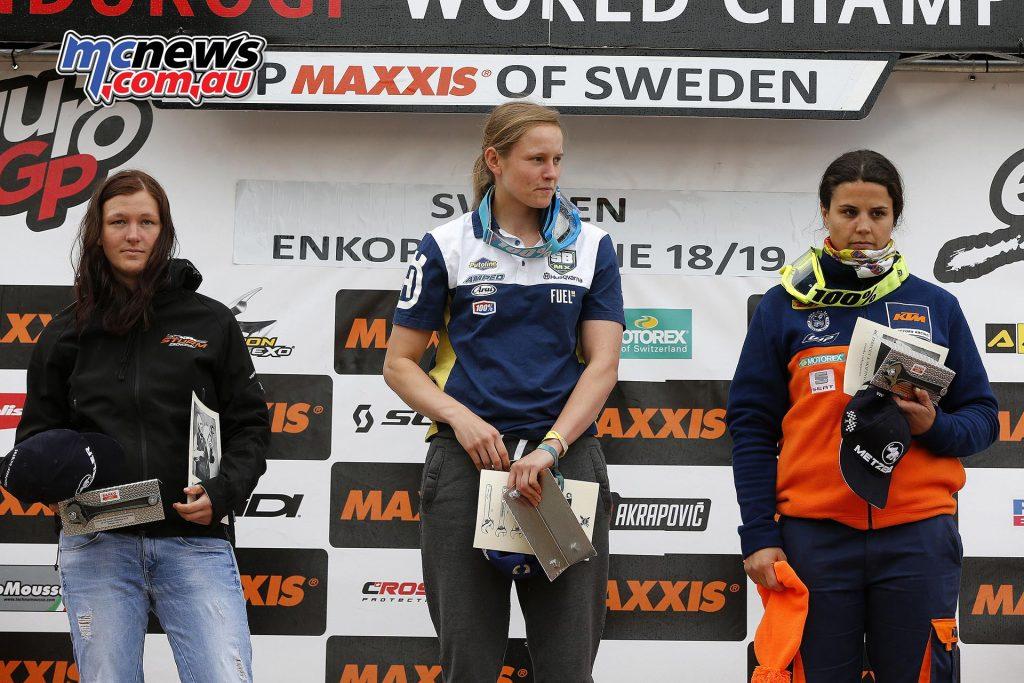 EnduroGP 2016 - Sweden - Jane Daniels the victor on day one