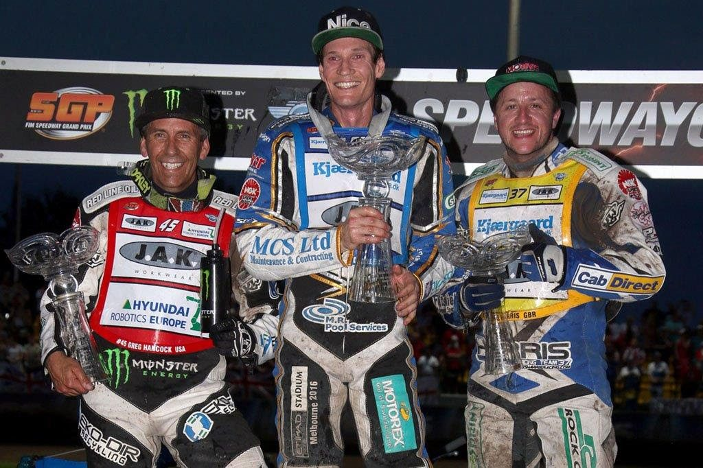 Australian ace Jason Doyle stormed to his first ever FIM Speedway Grand Prix victory at the Mitas Czech SGP in Prague on Saturday