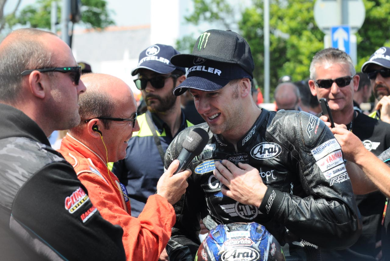 IOM TT 2016 - Supersport Race Two Winner - Ian Hutchinson