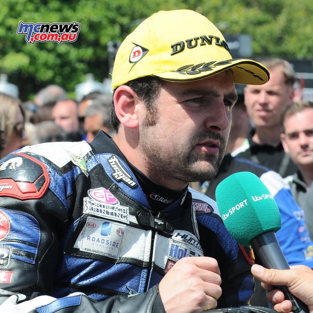 IOM TT 2016 - Supersport Race Two - Michael Dunlop (2nd)