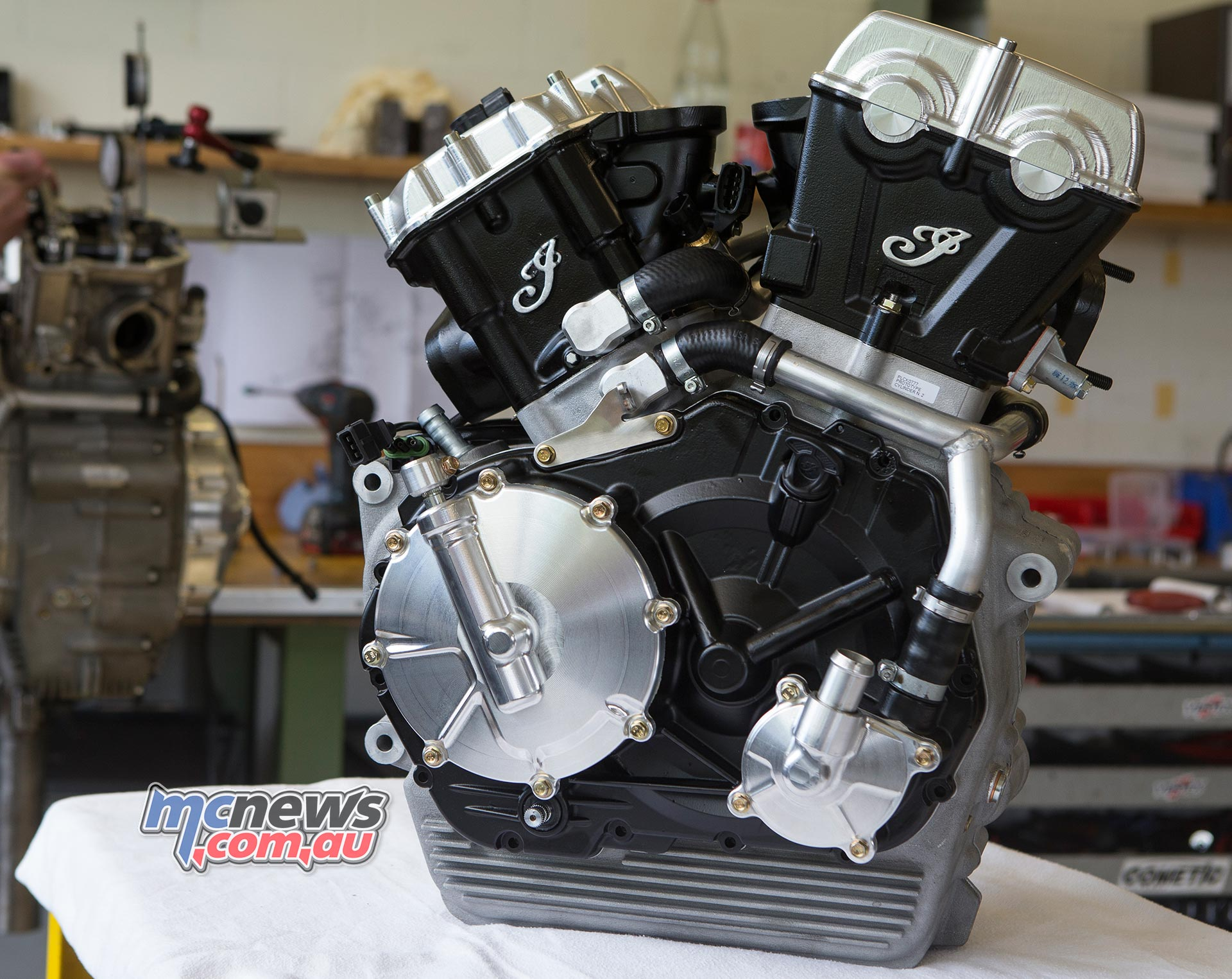Indian Flat Track Engine