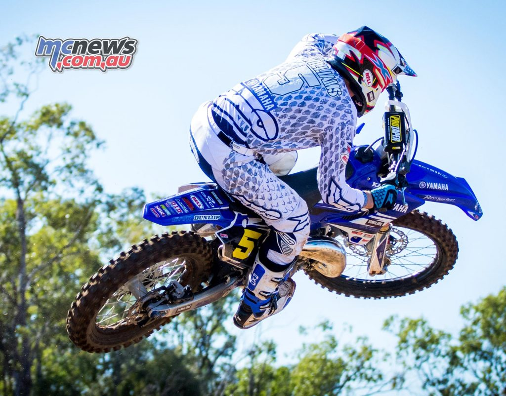 Jake Williams takes flight at Chinchilla