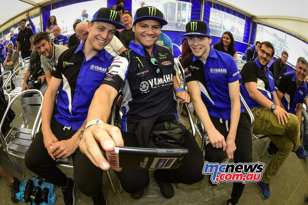 Jeremy Van Horebeek, Chad Reed and Romain Febvre