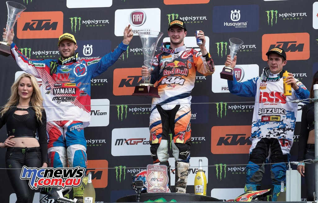 MXGP - 2016 - Saint Jean D'Angely - MX2 Podium