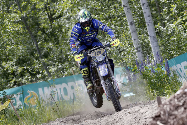 Matt Phillips and Eero Remes are now tied on points at the top of the EnduroGP table