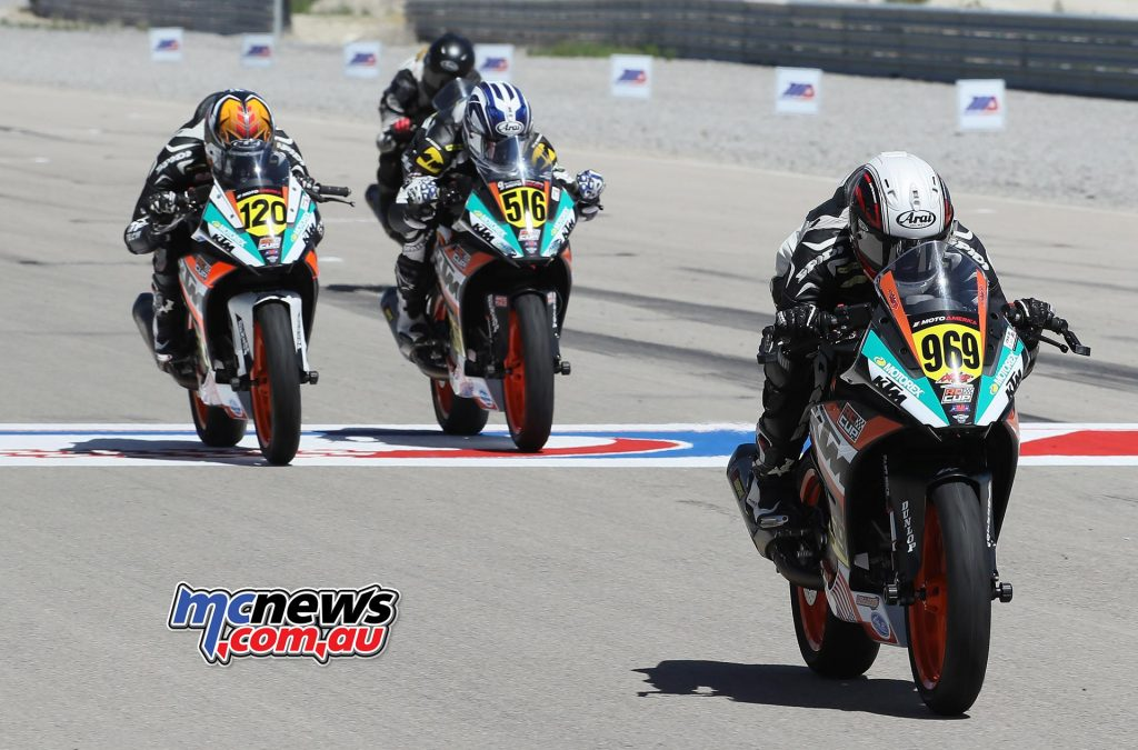 Brandon Paasch (969) extended his KTM RC Cup points lead with a victory over Asthon Yates (120) and Anthony Mazziotto III (516) at the Utah Motorsports Campus.