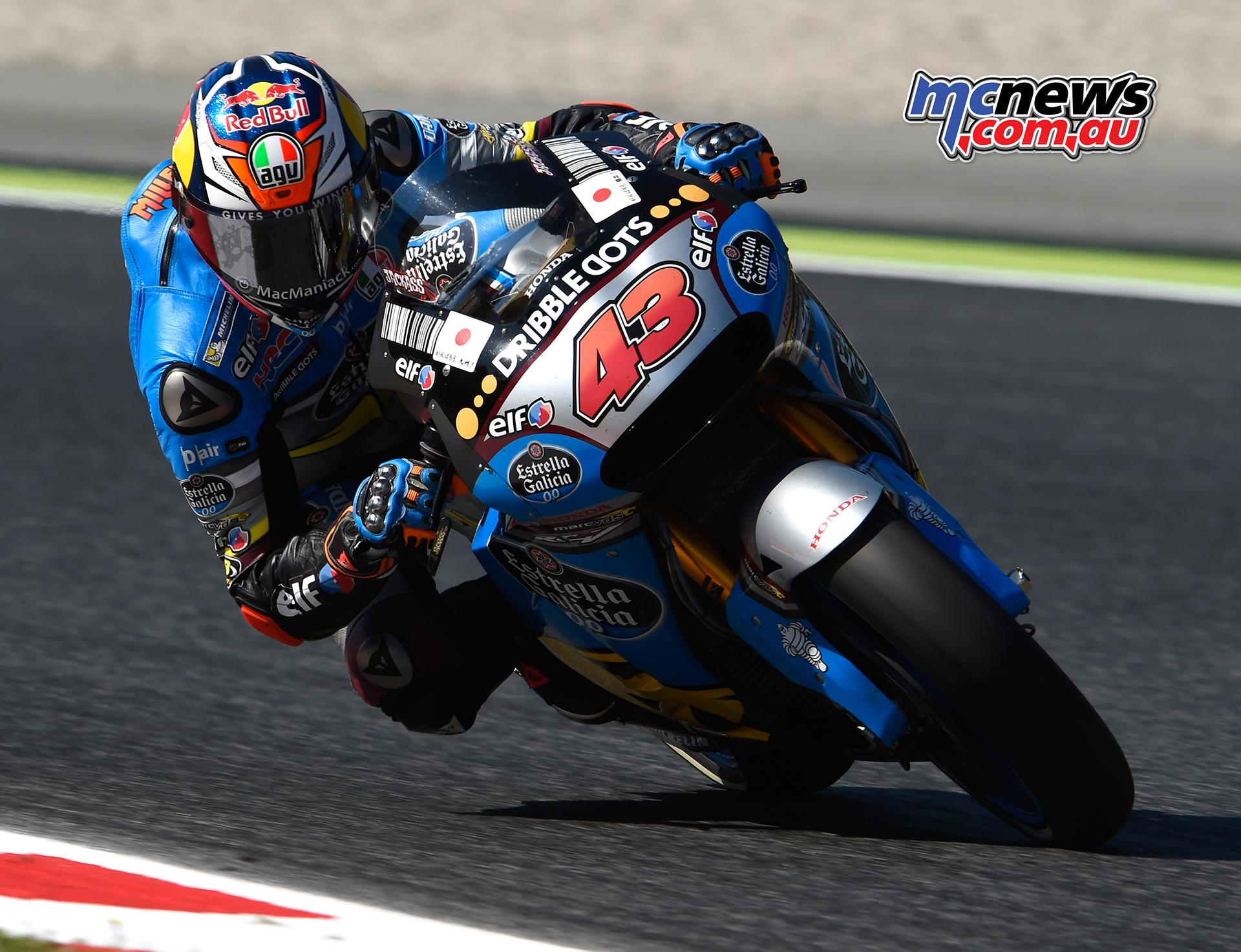 Miller down twice on day one at Catalunya | MCNews com au