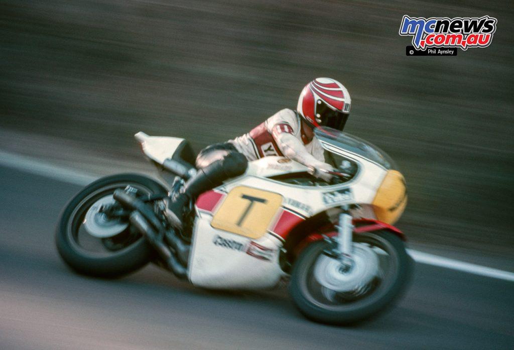 Ikujiro Taki/Yamaha TZ750 - winner of the Unlimited GP.