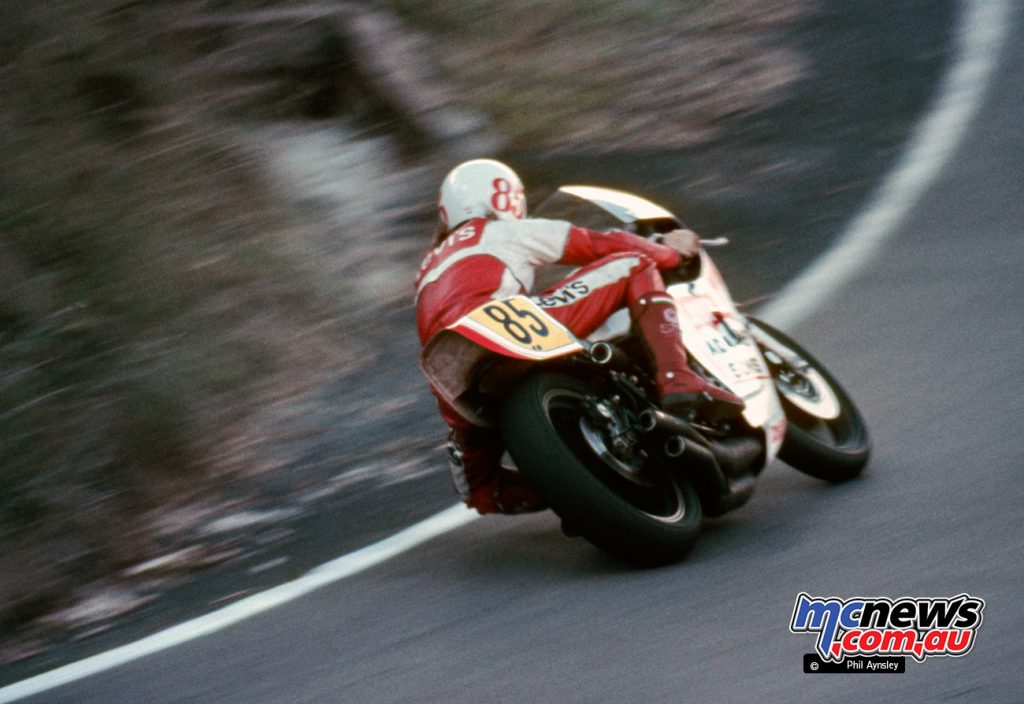 Warren Willing/Yamaha TZ750.