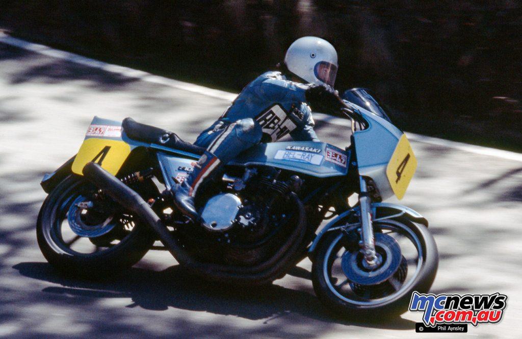 Graeme Crosby/Kawasaki Z-1R 1000.