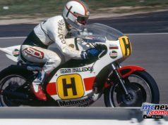 Mike Hailwood/Yamaha TZ750.