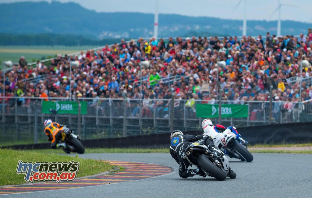 World GP Bike Legends at ADAC Sachsenring Classic