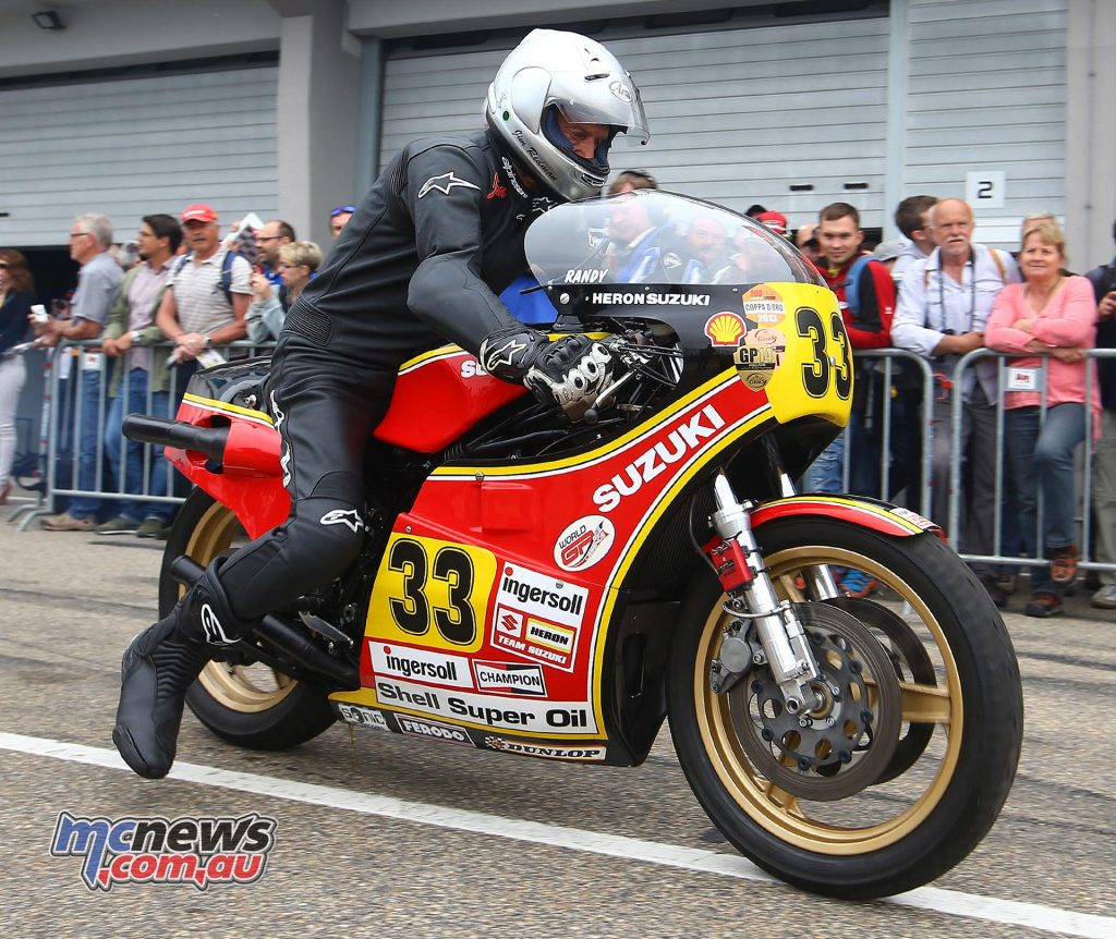 World GP Bike Legends at ADAC Sachsenring Classic - Jim Redman