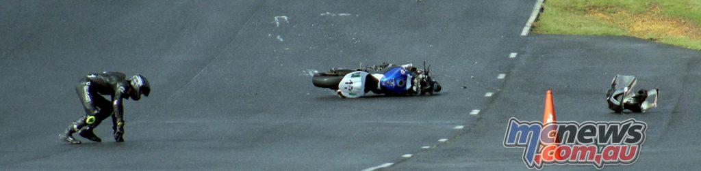Travis De Bono's crash