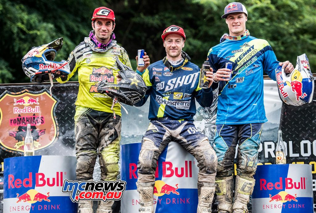 Red Bull Romaniacs 2016 - Graham Jarvis (1st) - Alfredo Gomez Cantero (2nd) - Wade Young (3rd)