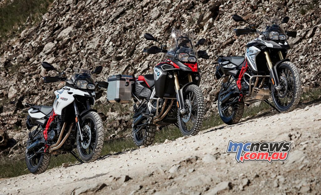 2017 BMW F 700 GS, F 800 GS and F 800 GS Adventure