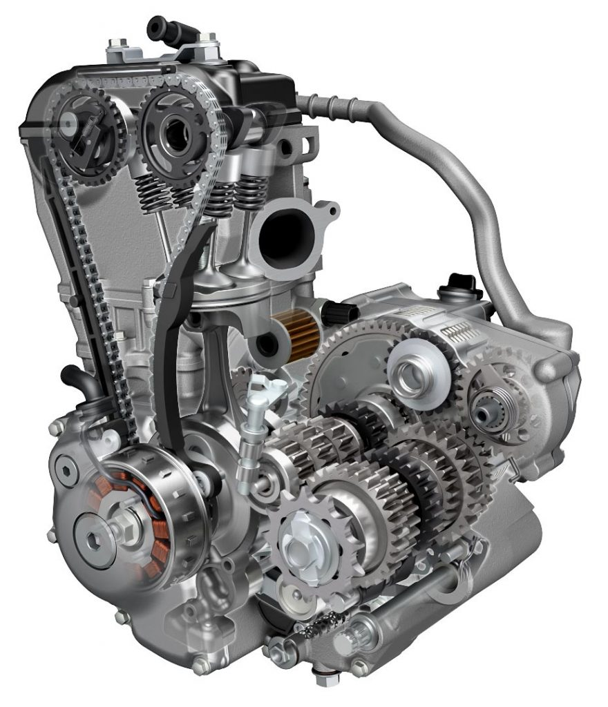 2017 Suzuki RM-Z250 Engine