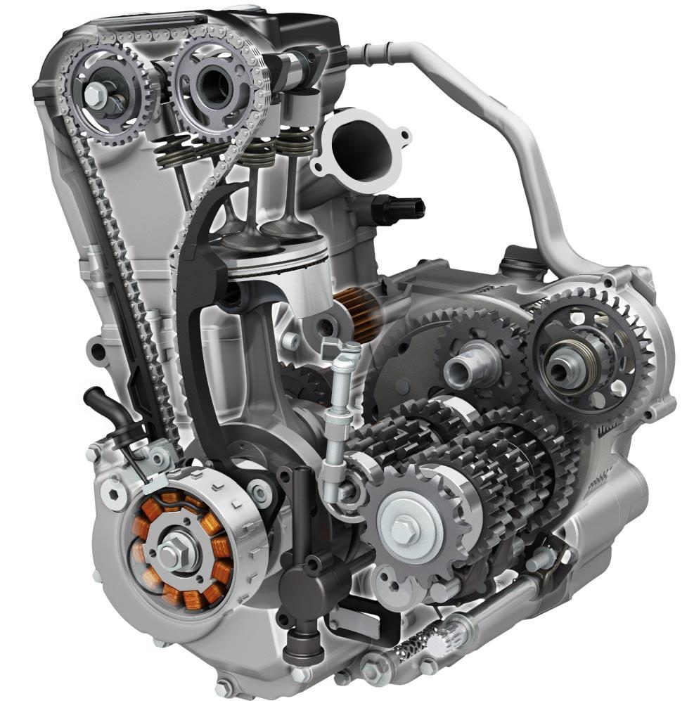 2017 Suzuki RM-Z450 Engine