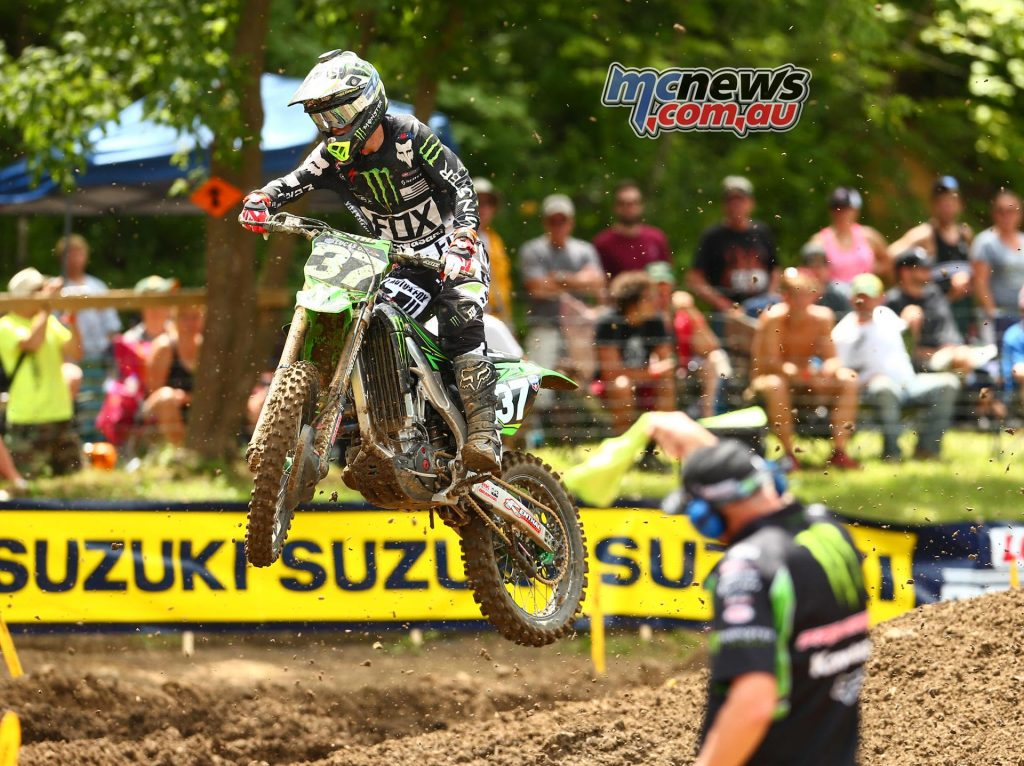 Lucas Oils AMA Pro Motocross 2016 - Round Eight - Spring Creek National, Millville - Image by Hoppenworld - joey Savatgy
