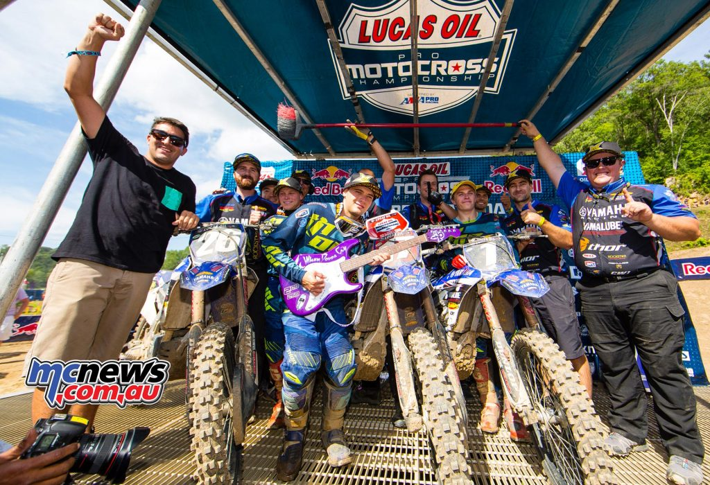 Lucas Oils AMA Pro Motocross 2016 - Round Eight - Spring Creek National, Millville - Image by Hoppenworld - 250 Podium