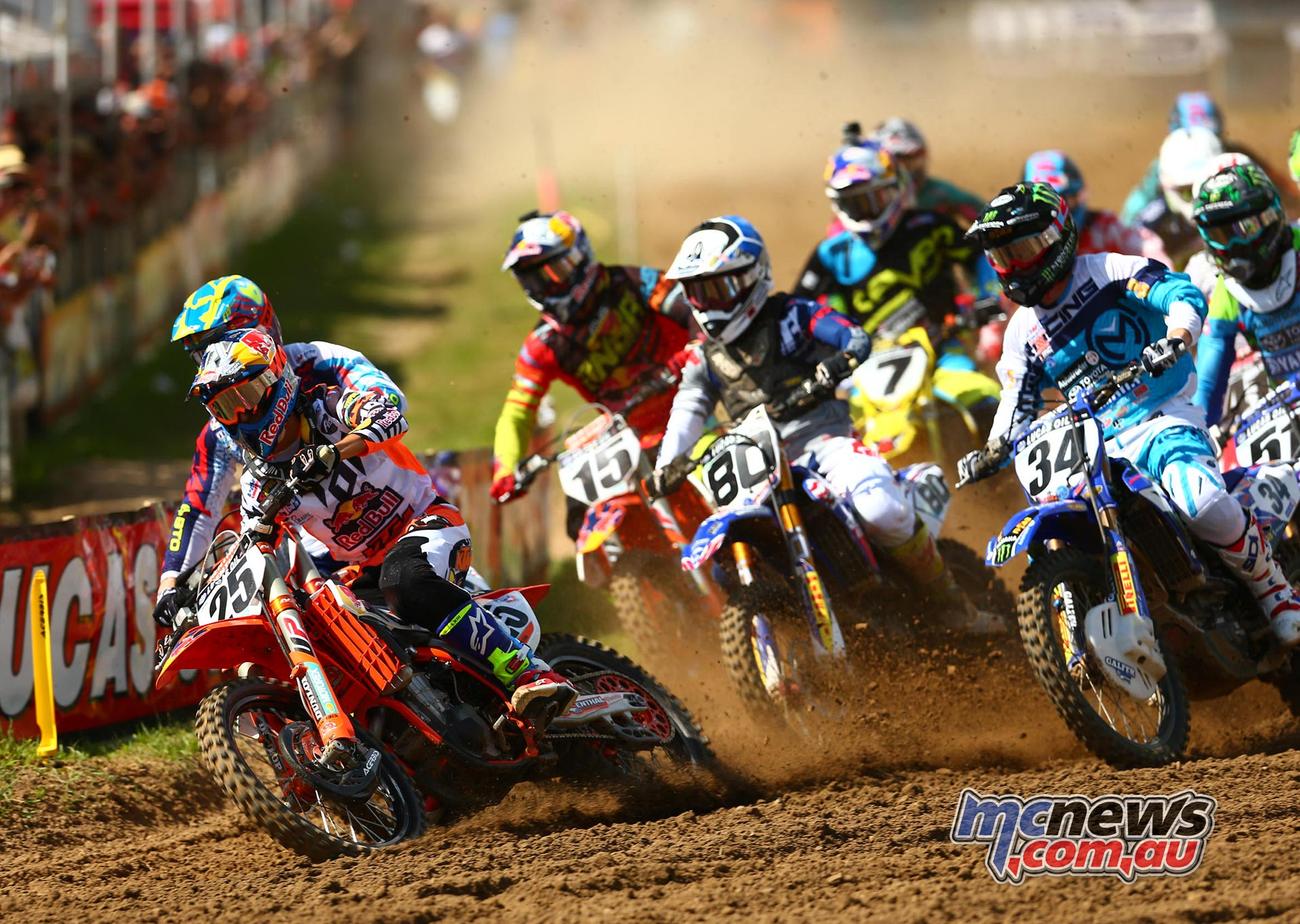 Lucas Oils AMA Pro Motocross 2016 - Round Eight - Spring Creek National, Millville - Image by Hoppenworld - 450