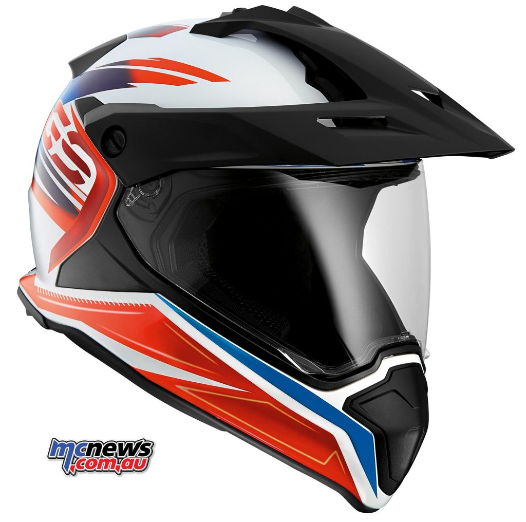 The recently launched BMW GS Helmet provides incredible comfort and protection with its lightweight carbon fibre-reinforced design.