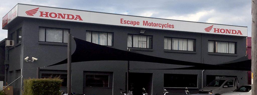 Escape Motorcycles 2 Cawarra Road (Corner Parraweena Road) Caringbah NSW 2229