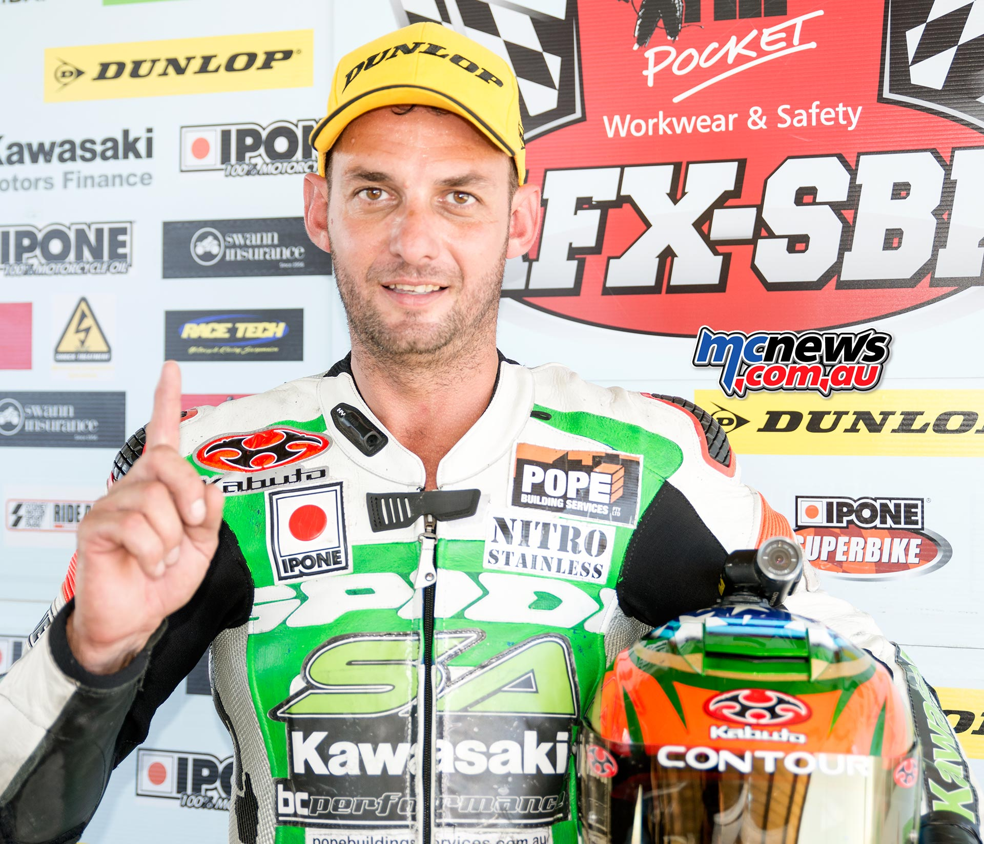 Robbie Bugden - Ipone Superbike Saturday Series Winner - Round Three - Queensland Raceway