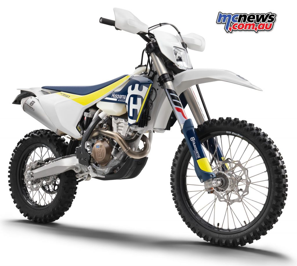 Husqvarna showed some of the strongest growth across total sales, and now moves up to seventh overall. 2017 FE350 pictured.
