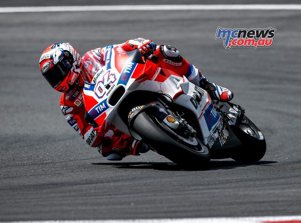 Red Bull Ring MotoGP Test 2016 - Day One - Andrea Dovizioso