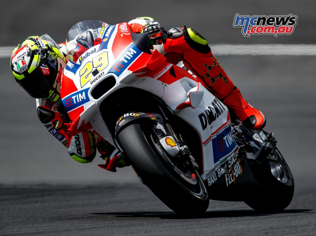 Red Bull Ring MotoGP Test 2016 - Day One - Andrea Iannone