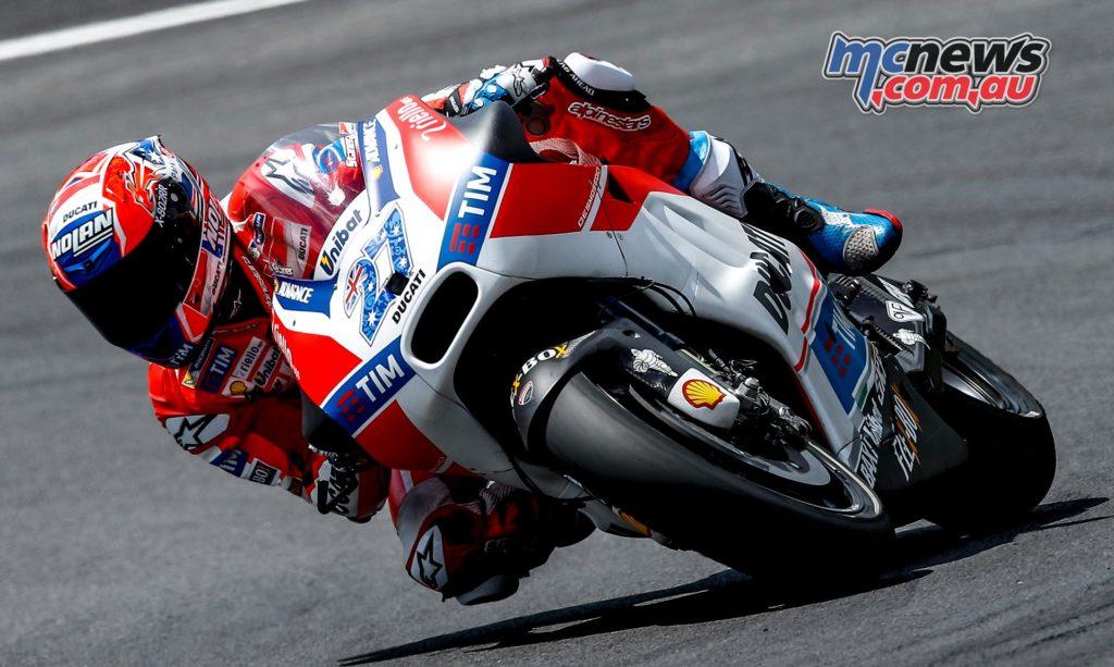 Red Bull Ring MotoGP Test 2016 - Day One - Casey Stoner