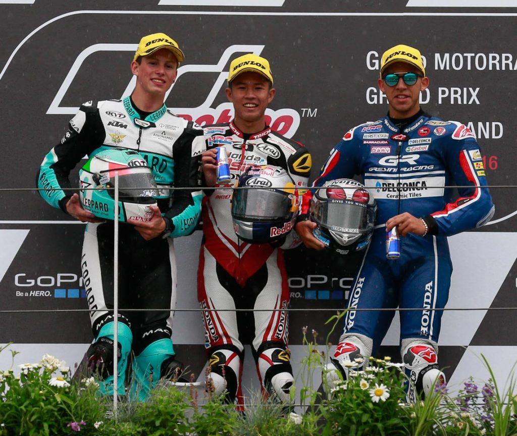 MotoGP 2016 - Round Nine - Sachsenring - Podium Moto3