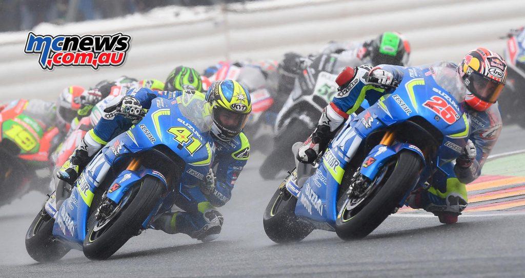 MotoGP 2016 - Round Nine - Sachsenring - Maverick Vinales, Aleix Espargaro