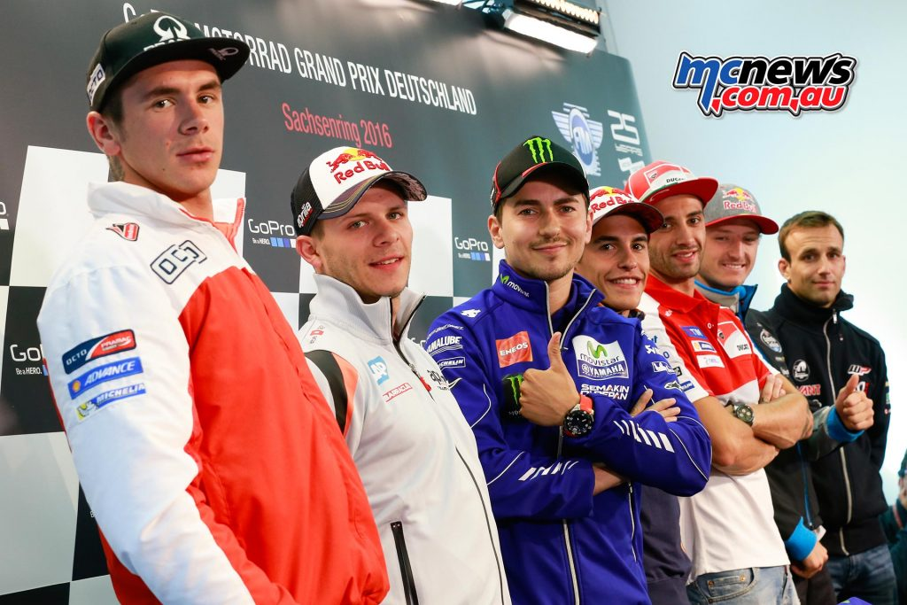 Sachsenring German MotoGP Press Conference