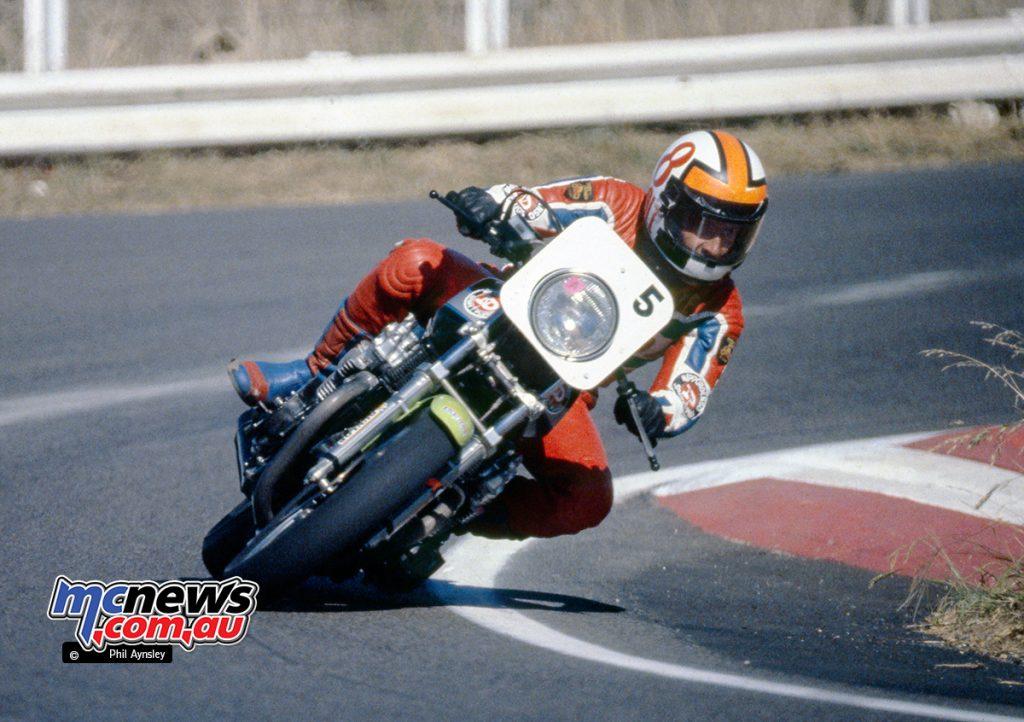 Mick Cole / Honda RSC 1062 - Bathurst 1980 - Image by Phil Aynsley