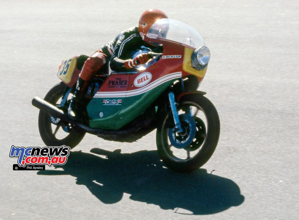 Dave Robbins / Ducati NCR 900 - Bathurst 1980 - Image by Phil Aynsley