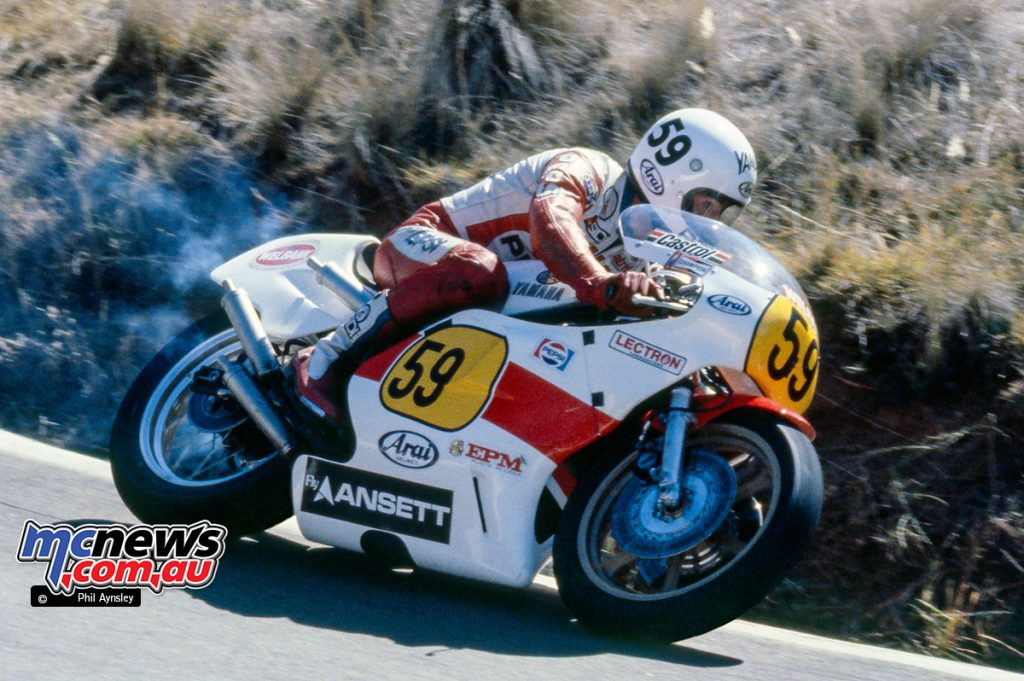 Ron Boulden / Yamaha TZ500 - Bathurst 1980 - Image by Phil Aynsley