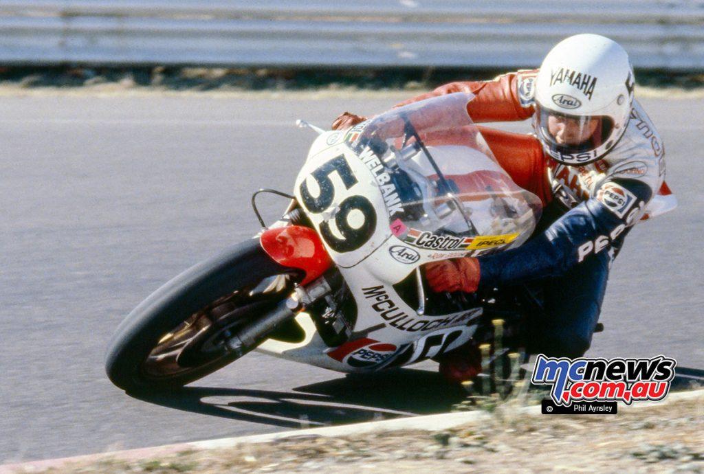 Ron Boulden / Yamaha TZ750 - 1980 Bathurst - Image by Phil Aynsley