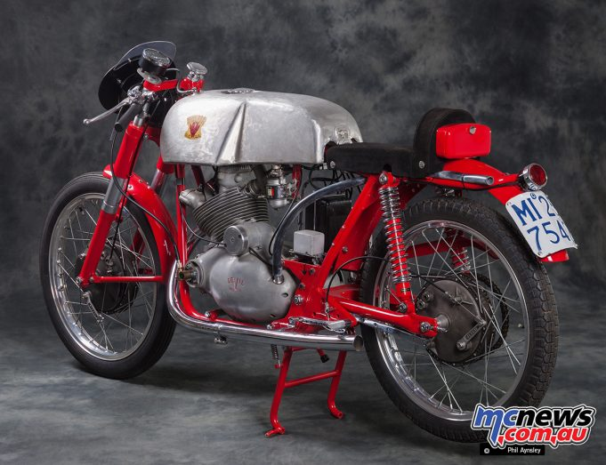 1956 Moto Devil OHV 175cc Formula 3 racer