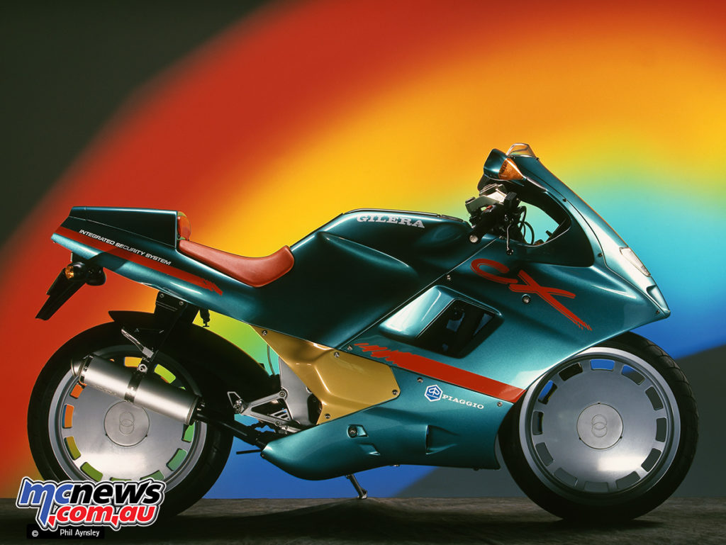Gilera CX125 - Image by Phil Aynsley